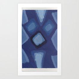 21 - I Posit That I Saws It/Diamonds Are Insightful Art Print