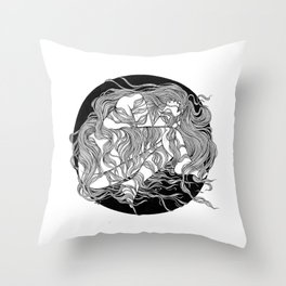 SAFE PLACE Throw Pillow