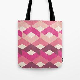 Pink Fancy Pattern Tote Bag