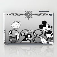 mickey iPad Cases featuring Mickey by Small Worlds