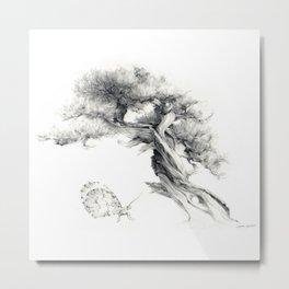 Penjing & Psyche Metal Print