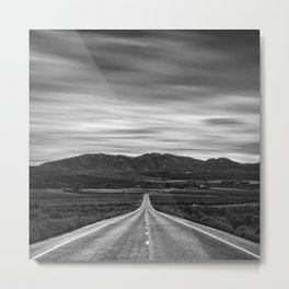 """At The End Of The Road"" Metal Print"