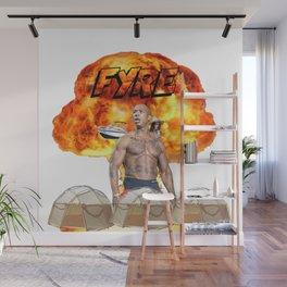 Fyre Wall Mural