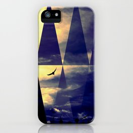 Horizontflieger iPhone Case