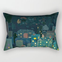 Losing The Forest Rectangular Pillow