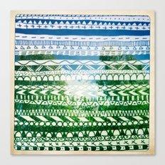 Hipstapattern Canvas Print