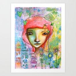 Just in Love...♥ Art Print