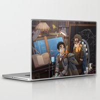 tinker bell Laptop & iPad Skins featuring Tinker by Magical Playlist