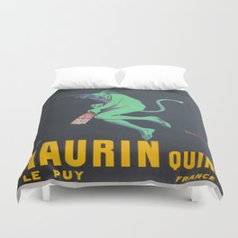 Vintage poster - Maurin Quina Duvet Cover
