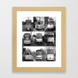 Tram from Europe Framed Art Print