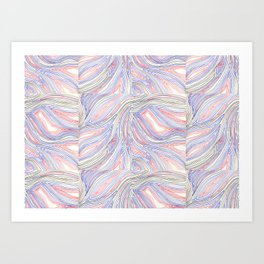 one hundred layers Art Print