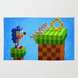 Sonic's dilemma Rug