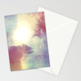 look to the sky Stationery Cards