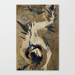 The Rime Of The Ancient Mariner Canvas Print