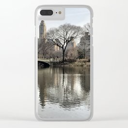 Iconic Central Park Clear iPhone Case