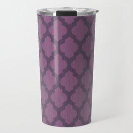 Purple Moroccan Travel Mug