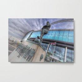 Bobby Moore Statue Wembley Stadium Metal Print