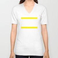 tour de france V-neck T-shirts featuring Tour de France by Pedlin