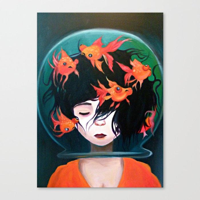 Mistaken Identity Ken Wong Recreation Canvas Print