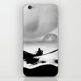 Black Space Song iPhone Skin
