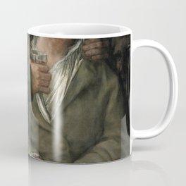 Francisco de Goya - Self-portrait with Dr Arrieta Coffee Mug