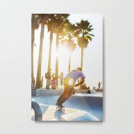 Venice Beach Skate Park 2 Metal Print