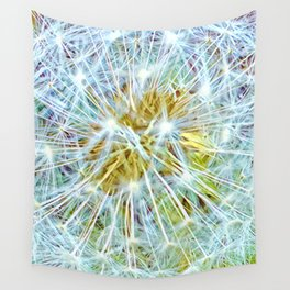 White Puff Ball Wall Tapestry