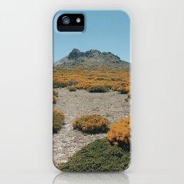 Peñalara Blooms iPhone Case