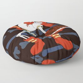 Papyrus and his Spaghetti Floor Pillow