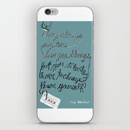 Warhol iPhone Skin