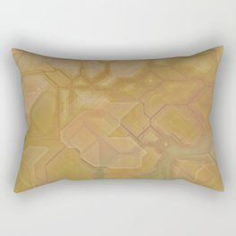 future fantasy oasis Rectangular Pillow