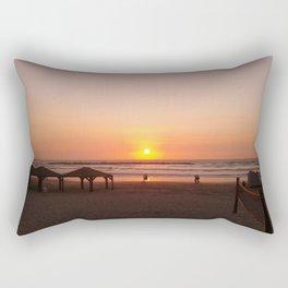 Shabbat Shalom From Tela-Viv Israel. Rectangular Pillow