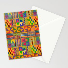 Kente Inspired Stationery Cards