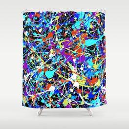 Splat! 2 (Inside Out) Shower Curtain