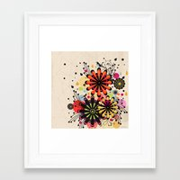 blossom Framed Art Prints featuring Blossom by Kakel