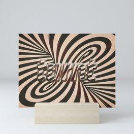 turnt Mini Art Print