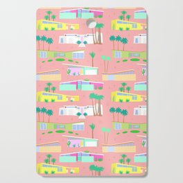 Palm Springs Houses Cutting Board