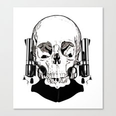 Revolver Beard Canvas Print
