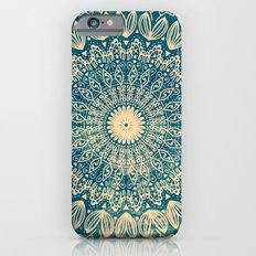 BLUE ORGANIC MANDALA Slim Case iPhone 6s