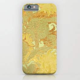 Sunflowers Golden Garden iPhone Case