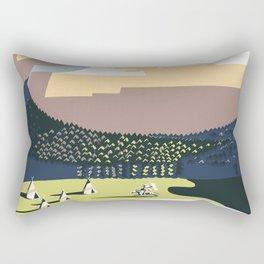 See America - Montana 2 Rectangular Pillow