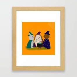 The Three Wizards Framed Art Print