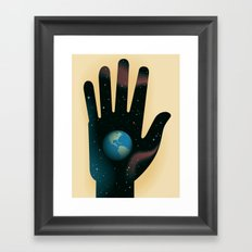 Hand of Creation Framed Art Print