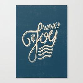 Waves of Joy Canvas Print