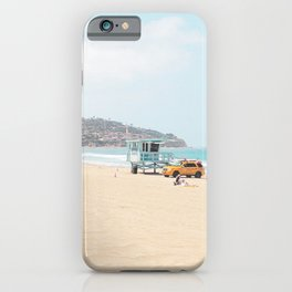 Redondo Beach // California Ocean Vibes Lifeguard Hut Surfing Sandy Beaches Summer Tanning iPhone Case