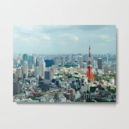Daytime Tokyo Metal Print