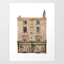 Print Gallery, Kings Parade, Cambridge, UK. Art Print