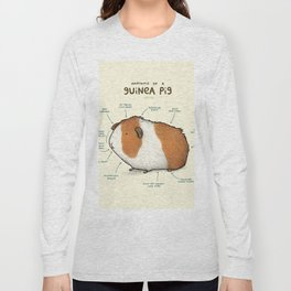 Anatomy of a Guinea Pig Long Sleeve T-shirt