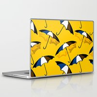 umbrella Laptop & iPad Skins featuring Umbrella  by Saundra Myles