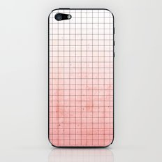 Sweet Pink Geometry iPhone & iPod Skin
